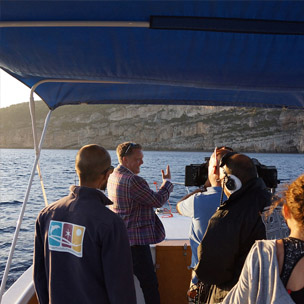 Uk-tv-alghero-custom-boat-tour