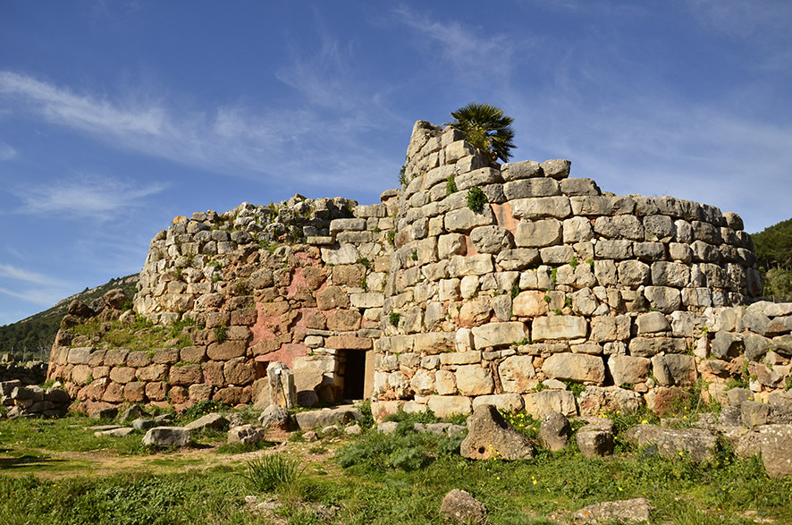 Nuragic village of Palmavera, Alghero, Sardinia.